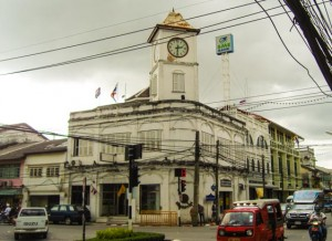 Phuket City Uhr