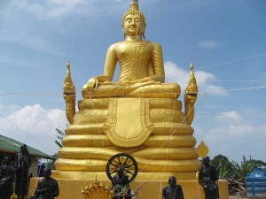 Goldener Buddha Phuket